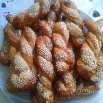 Печенье Кулуракья с апельсином, корицей и медом