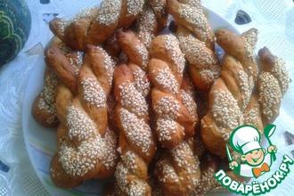Рецепт: Печенье Кулуракья с апельсином, корицей и медом
