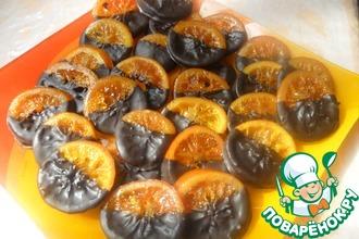 Рецепт: Апельсиновые цукаты