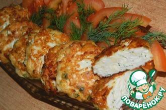 Рецепт: Нежные куриные котлеты с сыром