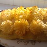 Картофельный рулет с мясом Весеннее настроение