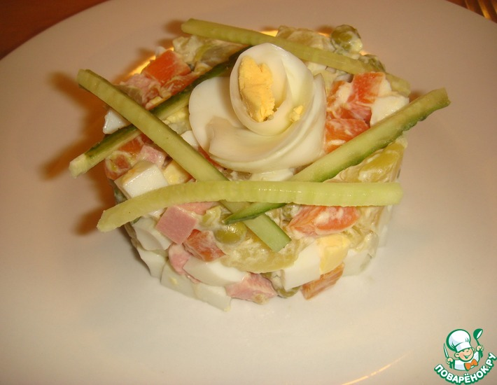 "Салат ""Домашний"" – кулинарный рецепт"