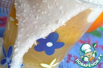 Рецепт: Фруктовый смузи с мороженым
