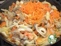 Густой грибной суп с фунчозой ингредиенты