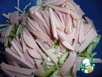 Салат из капусты с вареной колбасой ингредиенты