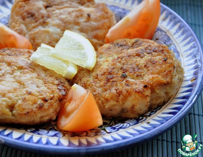 Рецепт: Рыбно-овощные котлеты