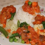 Рис с овощами Томатная Сказка