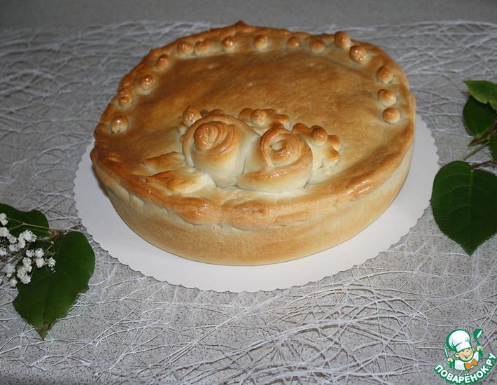 Пирог с груздями и гречкой – кулинарный рецепт