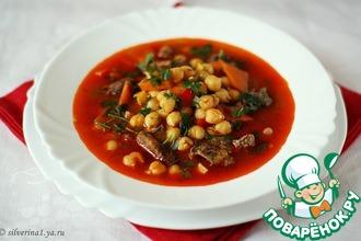 Рецепт: Суп из нута