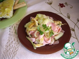 """Огуречный салат """"Сюрприз"""" – кулинарный рецепт"""