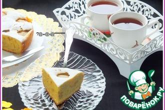 Рецепт: Грушевый пирог на желтках