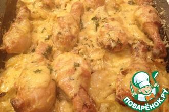 Рецепт: Слоёная картошка На все случаи жизни