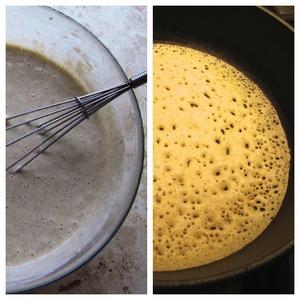 To make pancakes, I bake according to the recipe http://www.povarenok .ru/recipes/show/835 13/.  It took me 5 pieces: 2 - bottom 1 - middle 2 - top pie.