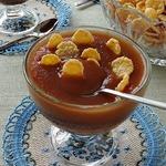 Кисельный десерт из сушеных яблок