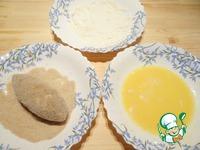 Зразы с начинкой из моцареллы и бекона ингредиенты