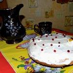 Сочный бисквитный торт