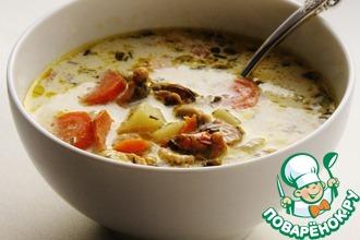 Рецепт: Норвежский рыбный суп