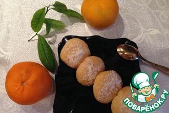 Рецепт: Печенье из манки Армянские макаронс