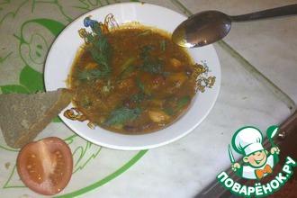 Рецепт: Рагу По-Барски с куриным филе и куриной печенью