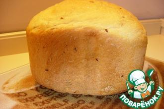 Рецепт: Белый хлеб с араxисом и семенами