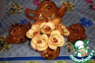 Рецепт: Печенье Букет роз