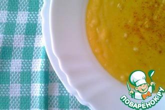 Рецепт: Гороховый суп-пюре туркменский