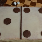 Торт Домино