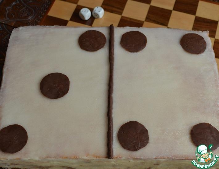 Рецепт: Торт Домино