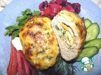 Мясные зразы с омлетом ингредиенты