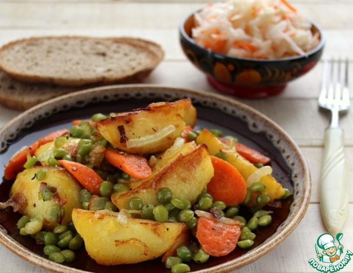 Рецепт: Горячая сковорода