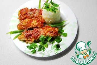 Рецепт: Горбуша Дачница