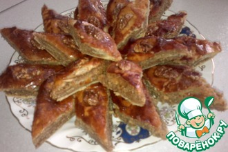 Рецепт: Пахлава восточная сладость