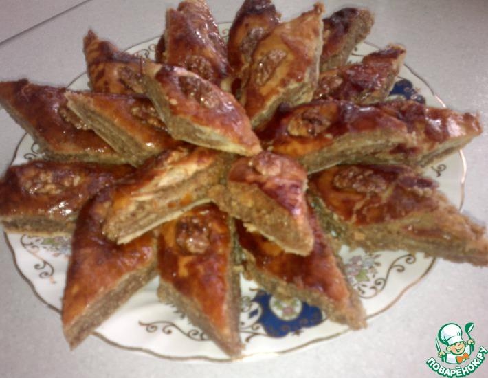 Рецепт: Восточная сладость Пахлава