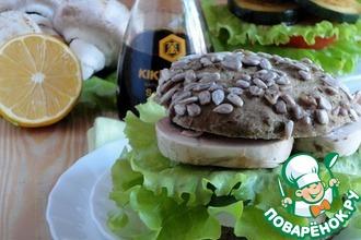 Рецепт: Постный бургер сыроеда
