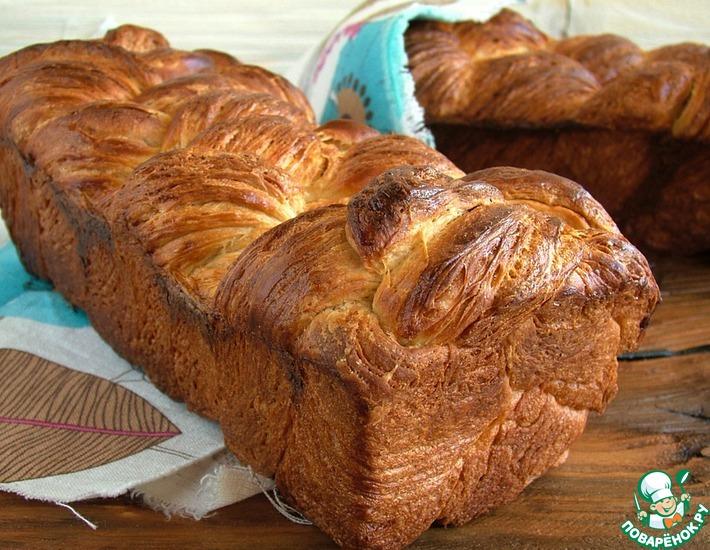 Рецепт: Азиатский слоеный хлеб