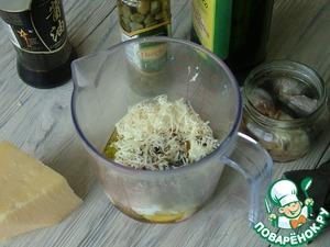 """Салат """"Цезарь"""" с индейкой и оригинальной заправкой – кулинарный рецепт"""