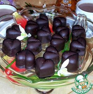 Шоколадно-ореховые конфеты с мармеладом – кулинарный рецепт