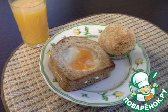 Рецепт: Яйцо в тосте
