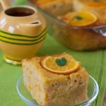 Греческий апельсиновый пирог