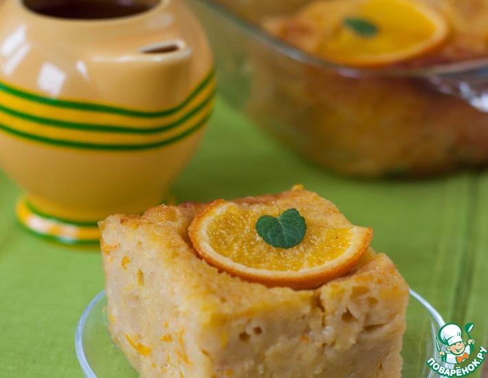 Рецепт: Греческий апельсиновый пирог