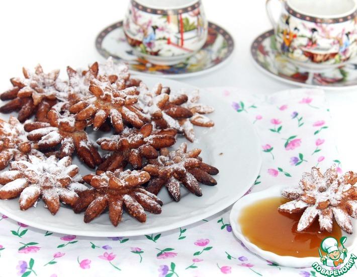 Рецепт: Фасолевые хризантемы