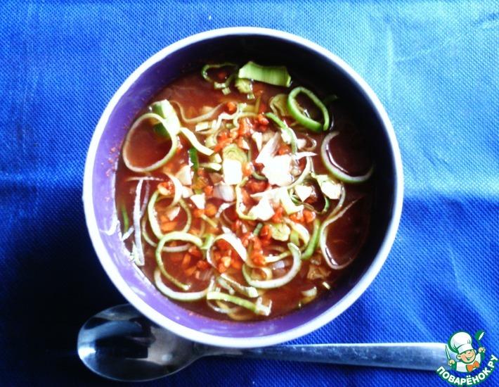 Рецепт: Луковый суп из диеты