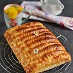 Сдобные булочки-сайки с заварным кремом