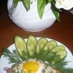 Нежные шницели с яйцом