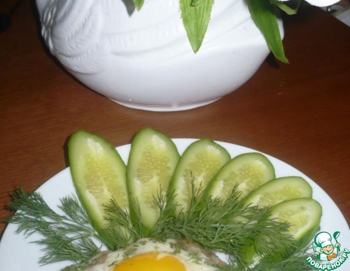 Рецепт: Нежные шницели с яйцом