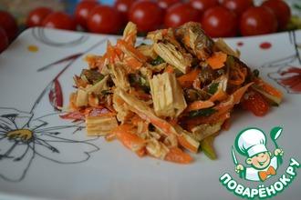 Рецепт: Азия-салат