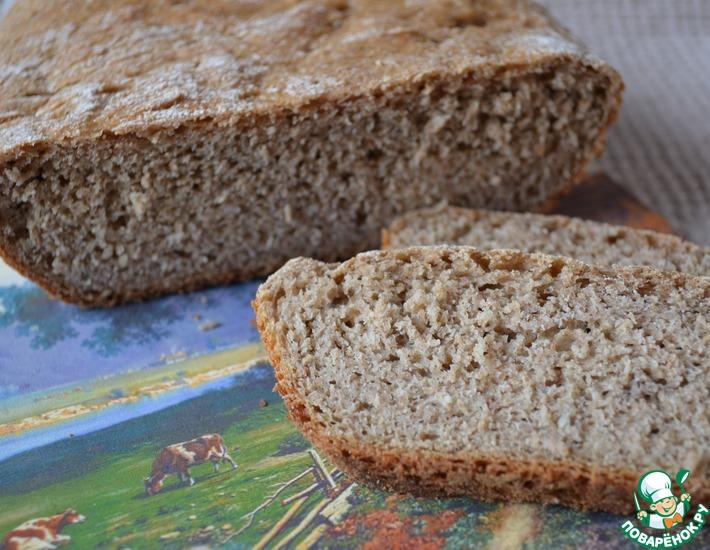 Рецепт: Цельнозерновой хлеб на дрожжах