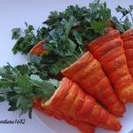 Салат в слоеных морковках