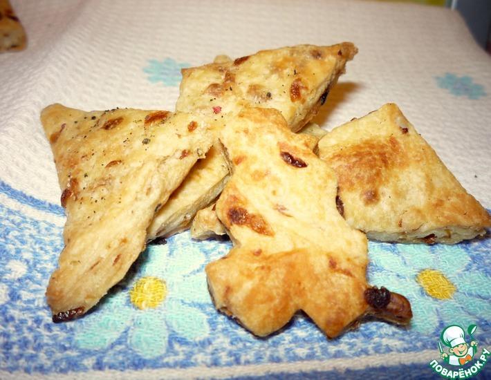 Рецепт: Луковый крекер