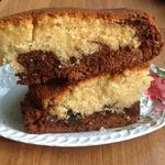 Шоколадно-ванильный пирог Таинство